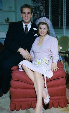 Ben Gage & Esther Williams, he would give her 3 children, Ben, Kendall and Susie