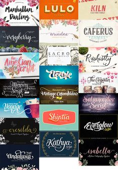 21 Best Selling Creative Fonts Bundle | Jan 2015 | purchased from Design Cuts