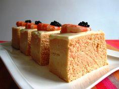 pastel frío de merluza