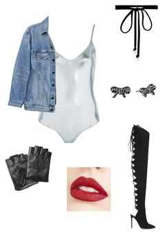 """""""New rock"""" by faniedeschanel ❤ liked on Polyvore featuring Topshop, Y/Project, Alexandre Vauthier, Karl Lagerfeld, Joomi Lim, Marc Jacobs and Jouer"""