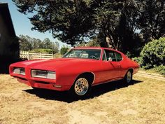 This is one my my favorite years for the GTO. '68