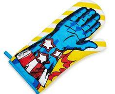 Oven glove / Szuperhős sütőkesztyű