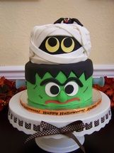 Halloween cake. most amazing cake i have ever seen.