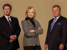 Boston Legal - James Spader, Candice Bergen and William Shatner