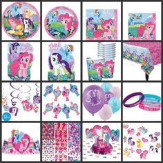 MY LITTLE PONY Birthday PARTY SUPPLIES - YOU PICK! Choose Your Own Set Kit