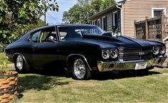 Discover recipes, home ideas, style inspiration and other ideas to try. Old School Muscle Cars, Chevy Muscle Cars, Old School Cars, Best Muscle Cars, American Muscle Cars, Chevy Chevelle Ss, Chevy Camaro, Chevrolet Corvette, Chevrolet Malibu