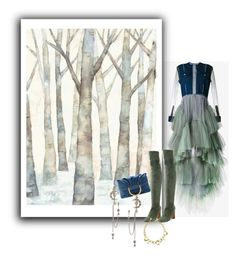 """Contest Entry...Denim Dress/One Big Picture"" by onesweetthing ❤ liked on Polyvore featuring Natasha Zinko, WALL, Nanette Lepore, STELLA McCARTNEY, Alexander McQueen and Roberto Cavalli"