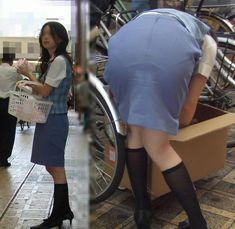 Bend Over, Shot Photo, Working Woman, Tight Dresses, Shirt Dress, T Shirt, Tights, Mini Skirts, Asian
