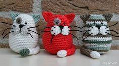 gatitos de crochet