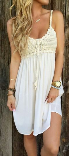 Must have for my Boho Wardrobe! Its so cute and stylish. Bohemian Style Dresses