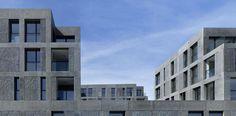 Zentrumsüberbauung Rosengarten Arbon by Max Dudler Architekt