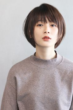66 Chic Short Bob Hairstyles & Haircuts for Women in 2019 - Hairstyles Trends Short Sassy Haircuts, Short Bob Hairstyles, Hairstyles Haircuts, Pretty Hairstyles, Korean Short Haircut, Japanese Haircut Short, Asian Bob Haircut, Bob Haircuts, Asian Short Hair
