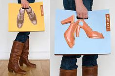 Resultado de imagen para publicidad zapatos creativa