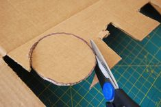 ikat bag: How To Work With Cardboard plus links to lots of cardboard projects