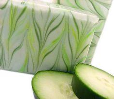 Cucumber Green Tea soap