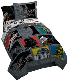 Lucas Film Star Wars Classic Death Star Comforter with Sham, Twin/Full