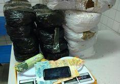 DE OLHO 24HORAS: Casal é preso com carro e 20 quilos de maconha em ...