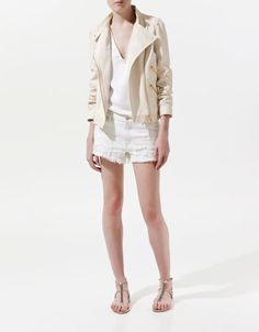 LEATHER JACKET - Blazers - Woman - ZARA United States. Must have by fall