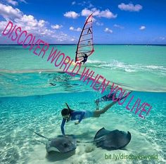 #Discover #world when you #live