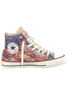 3299cbdce5dc Converse  All Star Roses  Trainers with multi coloured pattern  Freemans  Popular Sneakers