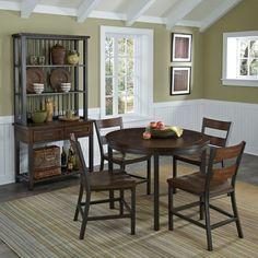 Home Styles Cabin Creek 5 Piece Dining Set - 5411-308