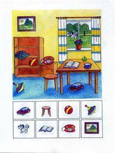 Find the picture - Encuentra la imágen Preschool Learning Activities, Speech Therapy Activities, Preschool Worksheets, Educational Activities, Kids Learning, Activities For Kids, Speech Language Therapy, Speech And Language, Kids Education
