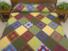 Churn Dash Quilt -- wonderful ably made Amish Quilts from Lancaster (hs6325)
