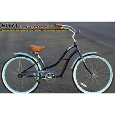 Fito Wood-Bottom Flat Mounting Basket Beach Cruiser Bikes Aluminum Alloy-Silver