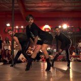 """Yanis Marshall is well-known for his amazing heels choreography, but his routine to the Britney Spears's classic """"Baby One More Time"""" puts a whole new spin on the song, which is - gasp! - coming up on its 20th anniversary. In this dance video, Yanis and co.   #POPSUGAR"""