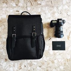 The Camps Bay backpack in Nylon. ONA | Premium leather bags handcrafted for creative professionals. via @hitnofireflys