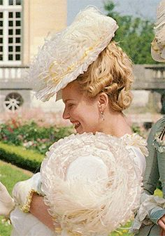 In 1774 King Louis XVI gave the Petit Trianon to his 20 year old wife, Marie Antoinette. Marie Antoinette Film, Marie Antoinette Costume, Movie Costumes, Cool Costumes, Sofia Coppola Movies, Aphrodite Aesthetic, Best Costume Design, Rococo Fashion, 18th Century Fashion