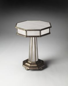 Masterpiece Elena Mirrored Accent Table
