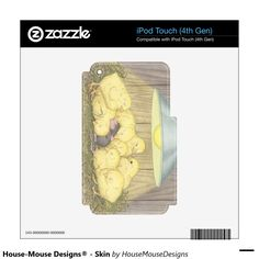 House-Mouse Designs® - Skin iPod Touch 4G Skin http://www.zazzle.com/house_mouse_designs_skin_ipod_touch_4g_skin-134255585427969653?rf=238588924226571373
