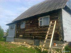 Утепление альтернативное, шлифовка и покраска б.у домов.