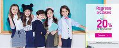 Liverpool 20% en monedero electrónico en ropa y artículos escolares