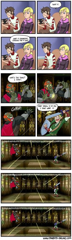 Zelda, Video Game Meme: If Zelda games turned FPS #gamermeme #gaming #gamerproblems