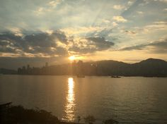sunshine and hongkong island