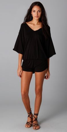 Awesome romper for the pool or beach - is it summer yet?