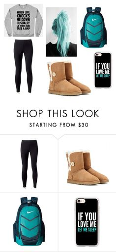 """Untitled 18"" by bre-winter ❤ liked on Polyvore featuring Jockey, UGG Australia, NIKE and Casetify"