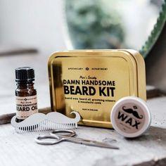 Bartpflege-Set online kaufen ➜ Bestellen Sie Bartpflege-Set für nur 32,50€ im design3000.de Online Shop - versandkostenfreie Lieferung ab 50€!