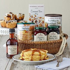 New England Breakfast Gift Basket-without meat