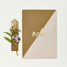 Katie Leamon Kraft Pink Notebook