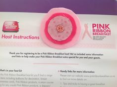 A beautiful brooch made by Debra! Breast Cancer, Fundraising, Ribbon, Brooch, Breakfast, How To Make, Pink, Beautiful, Band