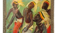 Irma Stern. Watusi Dancers 1942. Irma Stern
