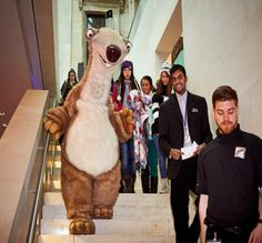 Sid at Ice Age Film Screening