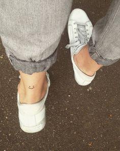 coolTop Tiny Tattoo Idea - Minimalist Tattoo Smile Minimal Tattoo ...