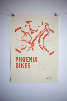 Phoneix Bikes poster by Ryan Lundy