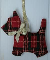 tartan christmas decorations - Google Search