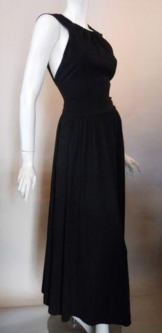 80s dress anne klein vintage dress