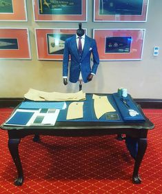 Join me today at the annual residency conference, I'll be talking about all things mens custom attire. Blue Suits, Poker Table, Conference, Join, Furniture, Home Decor, Decoration Home, Room Decor, Home Furnishings